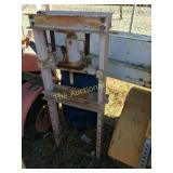 Press - Truck Tool Box Blue Barrel