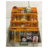 Rebel tackle box with contents