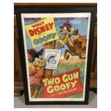 Framed Walt Disney presents Goofy print