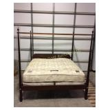 Large California king size Tester bed