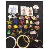 Costume Jewelry including Monet Bracelets.