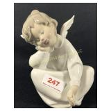 6 Inch Lladro Angel Figurine