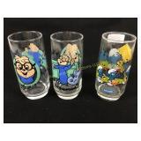 Smurf & Chipmunks glasses