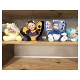Four Geppeddo Cuddle Kids Butterflies