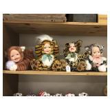 4 Geppeddo Cuddle Kids Cats