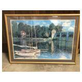 30 x 42 Framed Nautical Print