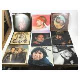 Waylon & Willie Nelson vintage albums.
