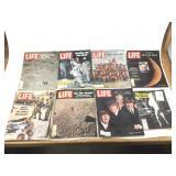 Vintage Life magazines, one Newsweek
