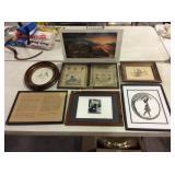 Misc framed prints & more