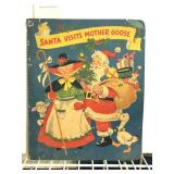 1953 Santa Visits Mother Goose Activity Book