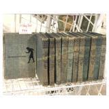 12 Blue Back Nancy Drew Mystery Books