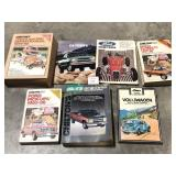 Lot of Seven Automotive Related Books