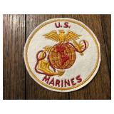 4 1/4 Inch Vintage US Marines Cloth Patch