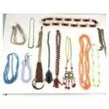 Lot of 12 Costume Jewelry Necklaces