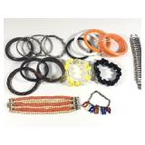 Lot of Assorted Costume Jewelry Bracelets