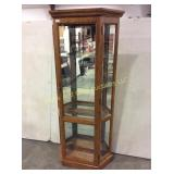 Lighted Display Curio Cabinet