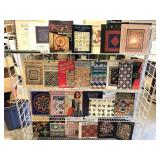 For Shelves of Books on Quilting
