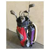 Vintage ProClassic golf bag and Clubs
