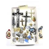 Lot of 50+ Religious Ornaments