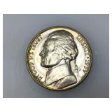 1939-D Jefferson nickel, gem unc. Key Date!