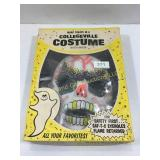 Vintage Collegeville Skeleton costume, in box
