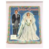 Vintage Bride & Groom paper dolls