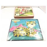 Lot of two vintage puzzles