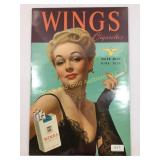 Wings Cigaretes paper add