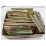 Box lot of assorted paper ephemera