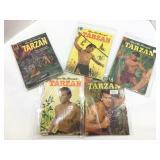 Lot of 7: Tarzan comics