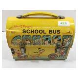 Tin Walt Disney school box lunch box