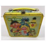Tin Sesame Street lunch box