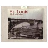 St. Louis Then and Now Hard Cover Book