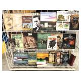 Three Shelves of Assorted Books