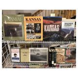 12 Assorted Books on Kansas
