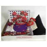Red Hat Society collection including hat