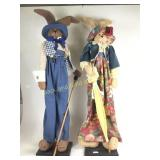 Mr. & Mrs. Bunny Rabbit