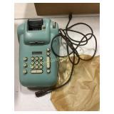 Vintage electric Burroughs adding machine