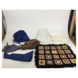 Box lot including handmade bonnets