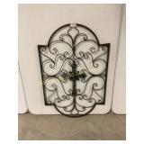 Decorative Metal Wall Art W/ Cross