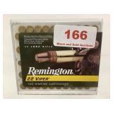 Remington 22LR Viper Truncated cone ammo qty 50