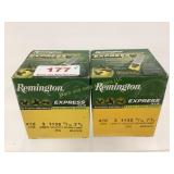 "Remington 410GA 3"" 11/16oz 7 1/2 shot ammo qty 50"