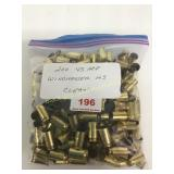 45 ACP brass cleaned not deprimed qty 200