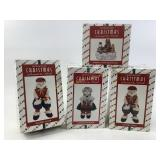 House of Lloyd Christmas figures in boxes