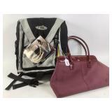 RAK backpack & ladies purse