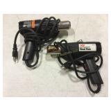Pair of Corded Heat Guns