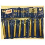 Wheeler 8-pc Brass Punch Set