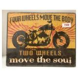 Metal Motorcycle Signage