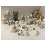 Flat Full of Cat Figurines