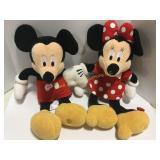 """24"""" Stuffed Mickey and Minnie"""